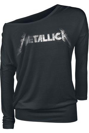 Metallica Spiked Logo Langarmshirt