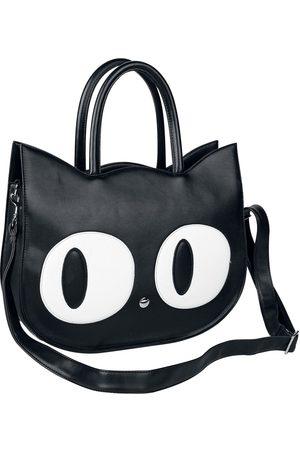 Banned Alternative Damen Handtaschen - Big Kitty Handtasche