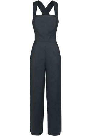 Hell Bunny Penny Dungaree Jumpsuit