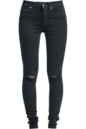 Dr Denim Lexy Ripped Knees Jeans
