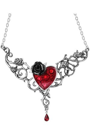 Alchemy Blood Rose Heart Halskette Standard