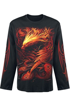 Spiral Phoenix Arisen Langarmshirt