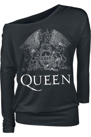 Queen Crest Vintage Langarmshirt