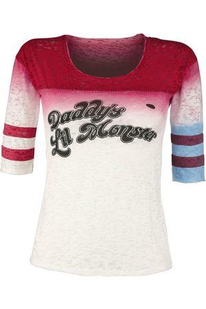 SUICIDE SQUAD Damen Longsleeves - Harley Quinn - Daddy's Little Monster Langarmshirt multicolour