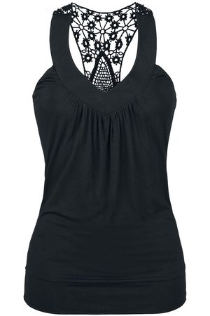 Fashion Victim Laced Racerback Girl-Top