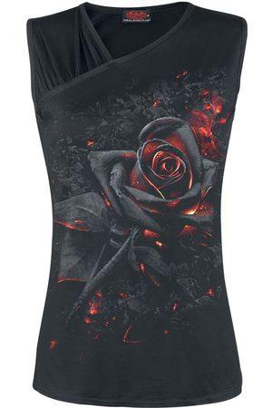Spiral Burnt Rose Top