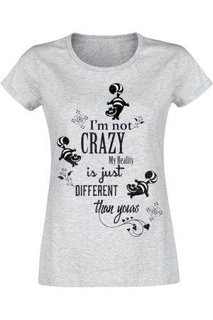 Alice im Wunderland Grinsekatze - I'm Not Crazy T-Shirt meliert