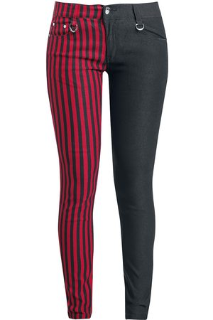 Banned Alternative Punk Trousers Stoffhose /