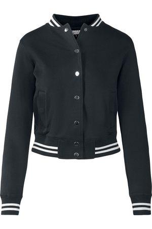 Urban classics Ladies College Sweat Jacket Collegejacke /weiß
