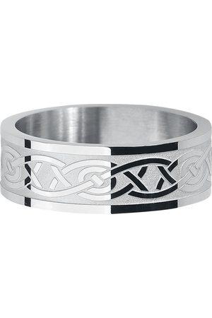 Rock-Silver Celtic Tribal Ring silberfarben