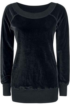 Forplay Velvet Sweater Girl-Sweat-Shirt