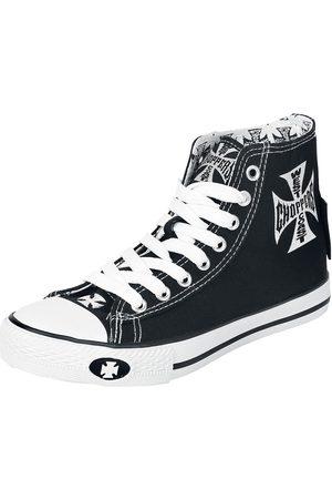 WEST COAST Iron Cross Sneaker high /weiß