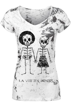Outer Vision Skeleton Lovers T-Shirt