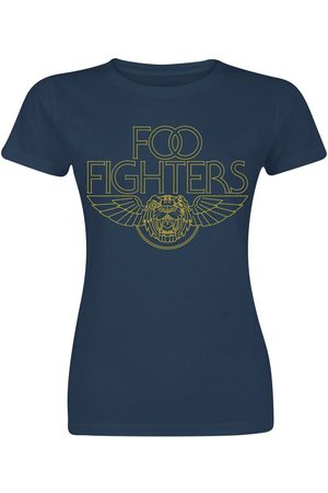 Foo Fighters Tiger Wings T-Shirt navy