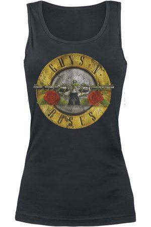 Guns N' Roses Distressed Bullet Top
