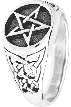 etNox hard and heavy Pentagram Ring Standard