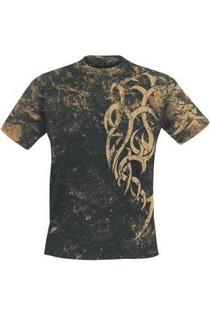 Outer Vision Marble Tattoo T-Shirt