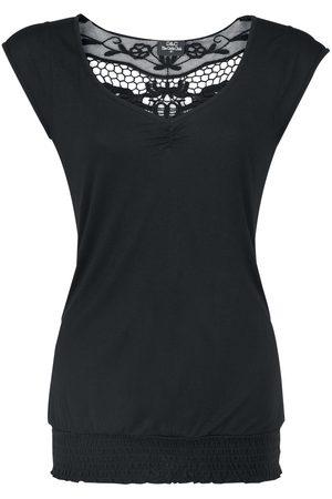 Fashion Victim Damen T-Shirts, Polos & Longsleeves - Backlace T-Shirt