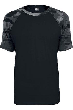Urban classics Herren T-Shirts - Raglan Contrast Tee T-Shirt /darkcamo