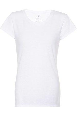 Velvet T-Shirt Odelia aus Baumwoll
