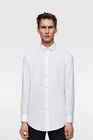 Zara Easy-care-hemd mit strukturmuster