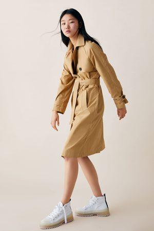 Zara Damen Trenchcoats - Trenchcoat mit knöpfen