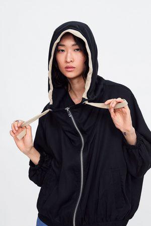 Zara Oversize-kapuzenjacke