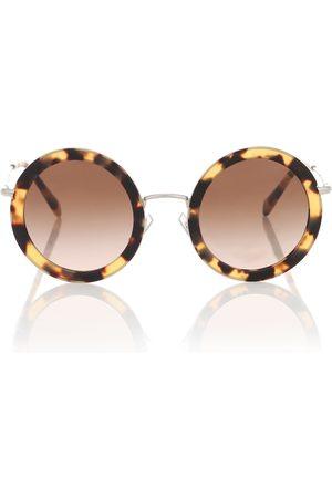 Miu Miu Runde Sonnenbrille