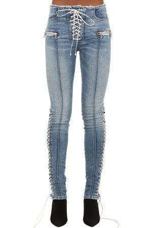 UNRAVEL Enge Jeans Aus Baumwollmischdenim
