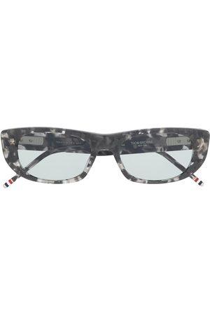 Thom Browne Eckige Sonnenbrille in Schildpattoptik