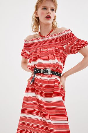Zara Kleid mit streifen