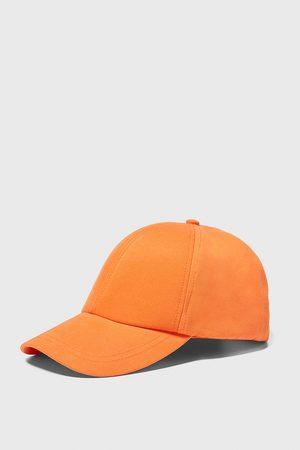 Zara Baseballcap mit twill-strukturmuster