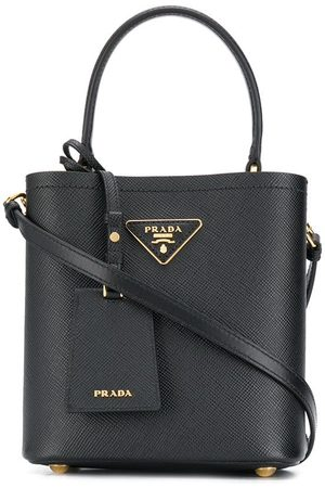Prada Damen Handtaschen - Handtasche mit Logo-Schild