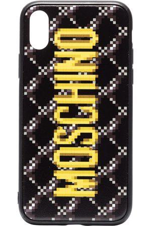 Moschino Damen Handy - IPhone XS-Hülle mit Logo