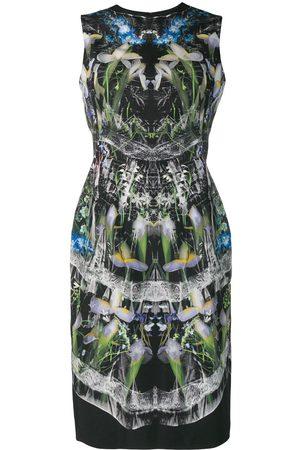 Alexander McQueen Kleid mit Hologramm-Print