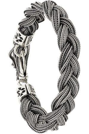 EMANUELE BICOCCHI Armbänder - Geflochtenes Silberarmband