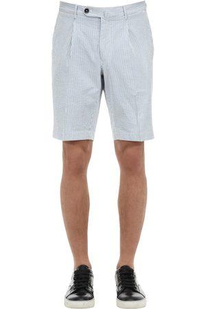 GTA Shorts Aus Baumwollseersucker