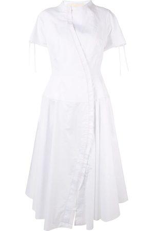 AGANOVICH Ausgestelltes Hemdkleid