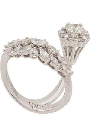 Yeprem 18kt Weißgoldring mit Diamanten