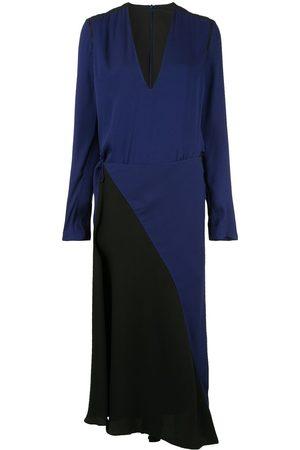 Haider Ackermann Damen Freizeitkleider - Wickelkleid mit langen Ärmeln
