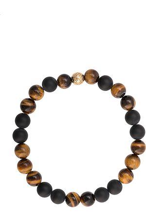 Nialaya Herren Armbänder - Elastisches Armband mit Steinen