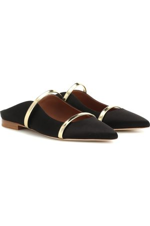 MALONE SOULIERS Slippers Maureen aus Satin
