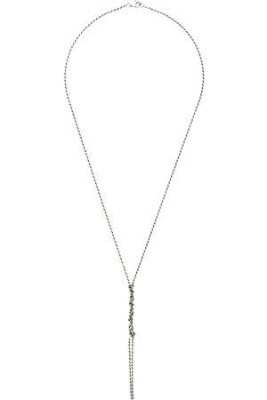 EMANUELE BICOCCHI Halskette mit Detail in Häkeloptik
