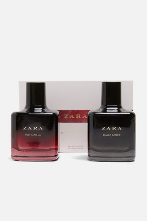 Zara Red vanilla edt 100 ml + black amber edt 100 ml