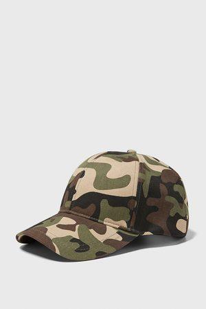 Zara Herren Caps - Baseballcap mit camouflageprint