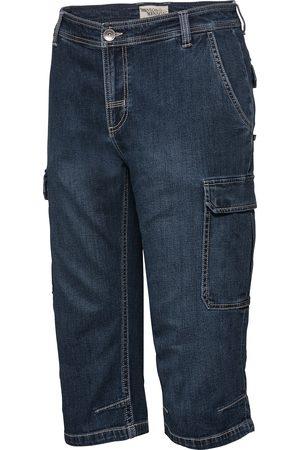 HENSON&HENSON Herren Capris - Herren Cargo-Capri-Jeans