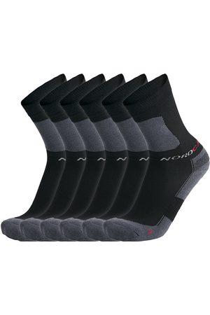 Nordcap Herren Unterwäsche - Allround-Sportsocken hoch, 6er Pack