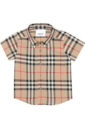 Burberry Baby Hemd aus Baumwolle