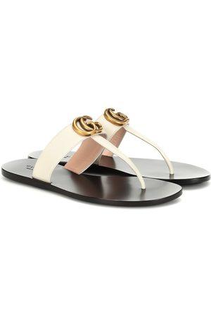 Gucci Sandalen aus Leder