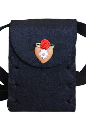Edelnice Damen Dirndl - Mini Dirndltasche Filz Herz